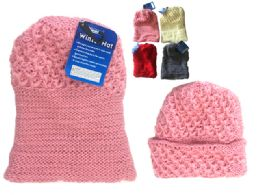288 Bulk Women's Knitted Hat, 85g One Size Fits Most