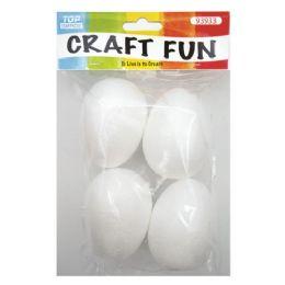 144 Bulk Four Count Foam Egg