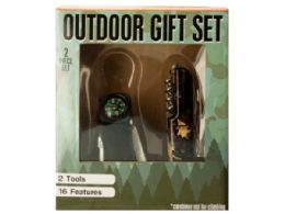 6 Bulk Outdoor MultI-Function Tool Gift Set