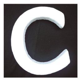 96 Bulk Foam Letter C