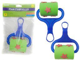 144 Bulk Roller Foam Star Stamp