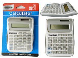 96 Bulk Calculator In White / Grey