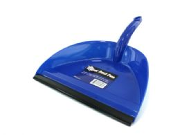 72 Bulk Wide Mouth Dust Pan With Rubber Edge