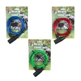 48 Bulk Bicycle Lock W. 2 Keys