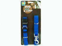 24 Bulk Dog Collar & Lead Set