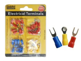 144 Bulk 40pc Electrical Terminals In 3 Asst Colors