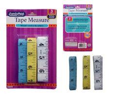 96 Bulk 3 Piece Tape Measures