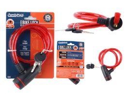 72 Bulk Bicycle Lock W/ Sliding Cover