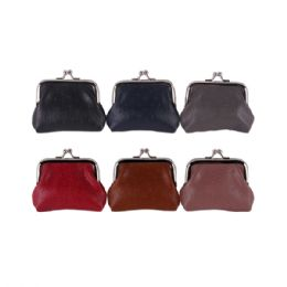36 Bulk Ladies Coin Purse Assorted Colors