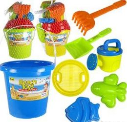 6 Bulk 6 Piece Beach Toy Sets