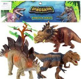 6 Bulk 6 Piece Jumbo Dinosaur Sets
