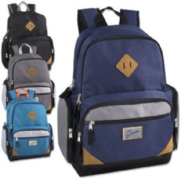 5bcbed46a307 Wholesale Trailmaker 19 Inch Duo Compartment Backpack with Laptop Sleeve