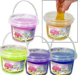 36 Bulk Large Magic Clay Slimes W/ Confetti