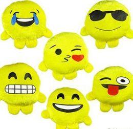 "288 Bulk 5.5"" Mini Plush Emoji Buddies"