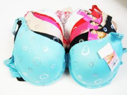 24 Bulk Lady Bra Assorted Color And Size