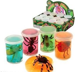 96 Bulk Insect & Creature Slimes Assortments
