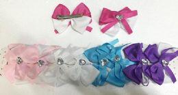 144 Bulk Girls Assorted Colored Hair Clip