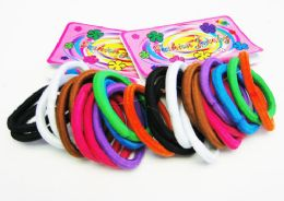 72 Bulk 12 Pack Hair Scrunchies