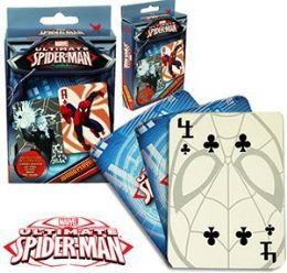 24 Bulk Spiderman Jumbo Playing Cards