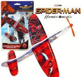 48 Bulk Spiderman Propeller Glider 2 Packs