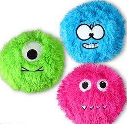 "192 Bulk 6.5"" Plush Fuzzy Monsters"