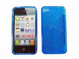36 Bulk I Phone Case Blue