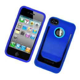 12 Bulk I Phone Case With/ Clip In Blue