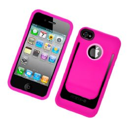 12 Bulk I Phone Case With/ Clip In Hot Pink