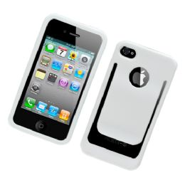 12 Bulk I Phone Case With/ Clip In White