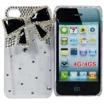 6 Bulk I Phone Case 3d Bow In Black Clear