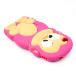 12 Bulk I Phone 4s Case Big Monkey In Hot Pink
