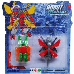 96 Bulk Robots On Blister Card Two Assorted Styles