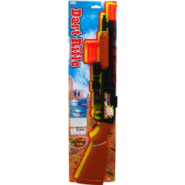 "36 Bulk 23.5"" Soft Dart Toy Shoot Gun Play Set Tied On Card"