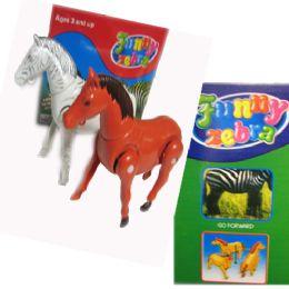 12 Bulk The Funny Run Horse & Zebra