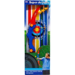 "12 Bulk 25"" Super Archery Play Set In Open Box"