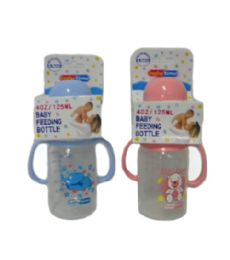 48 Bulk Plastic Baby Bottle With Handles
