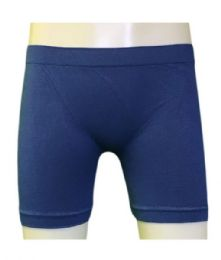 60 Bulk Femina Girl's Seamless Shorts. Size Medium