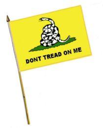 60 Bulk Dont Tread On Me Stick Flags