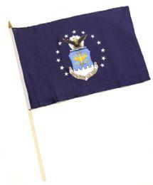 60 Bulk Military Air Force Stick Flags