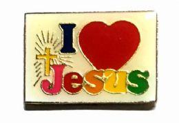 """96 Bulk Brass Hat Pin, """"i (love) Jesus"""""""