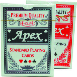 60 Bulk Standard Playing Cards - Plastic Coated