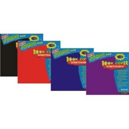 60 Bulk Jumbo Book Cover - StrecthablE-Assorted Colors