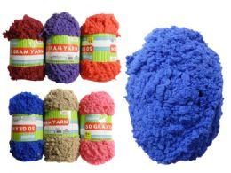 96 Bulk 50g Yarn In 6 Assorted Colors