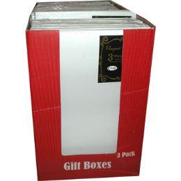 "30 Bulk Gift Boxes - 3 Pack - Medium Size - 9.5"" X 14"""