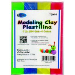 24 Bulk Modeling Clay 4 Pack