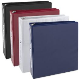 24 Bulk 2 Inch Binder With Two Pockets - Assorted