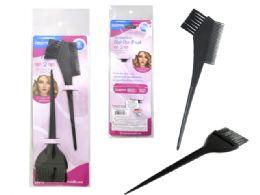 144 Bulk 2 Piece Hair Dye Brushes Set