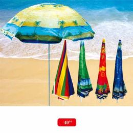 "12 Bulk 40"" Beach Umbrella"