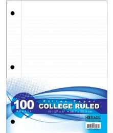 60 Bulk 100-Sheet College Ruled Filler Paper