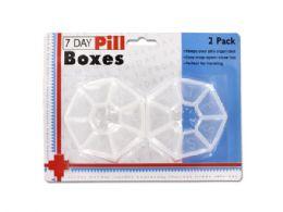 72 Bulk 7-Day Pill Box Set
